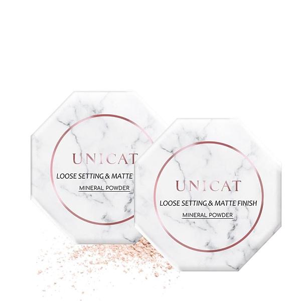 【南紡購物中心】超定妝-光彩礦物蜜粉 13G(大容量)X2【變臉貓UNICAT】
