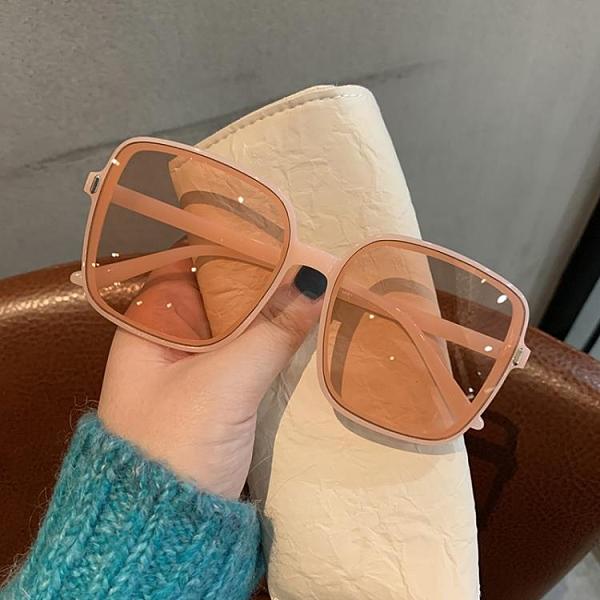 墨鏡2021新款潮街拍圓臉眼鏡男開車防紫外線眼睛時尚太陽鏡網紅款
