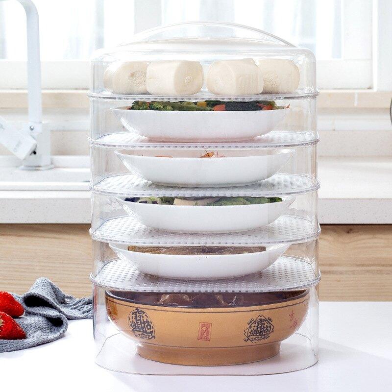 保溫菜罩飯菜食物罩冬季加厚防塵加熱餐桌保暖飯罩子剩菜蓋菜