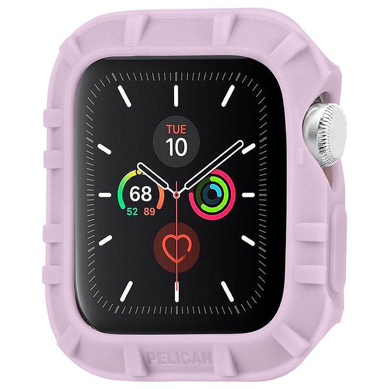 美國 Pelican Apple Watch 38-40mm 1-6代/SE保護者保護殼-淡紫色