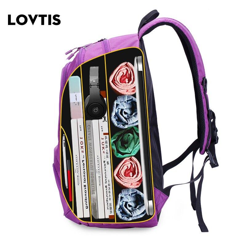 雙肩包女大容量旅行包書包男短途電腦背包輕便休閑戶外運
