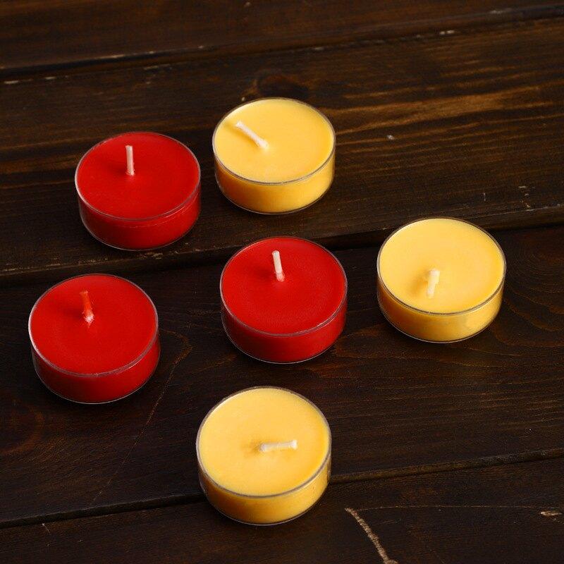 4小時108粒酥油燈植物香熏蠟燭供油燈佛燈