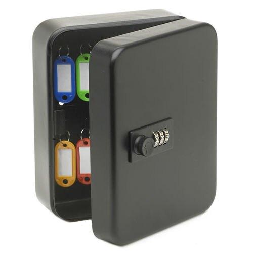 KEYBOX密碼鎖鑰匙箱家用掛牆鑰匙櫃汽車鑰匙收納管理盒中介壁掛式