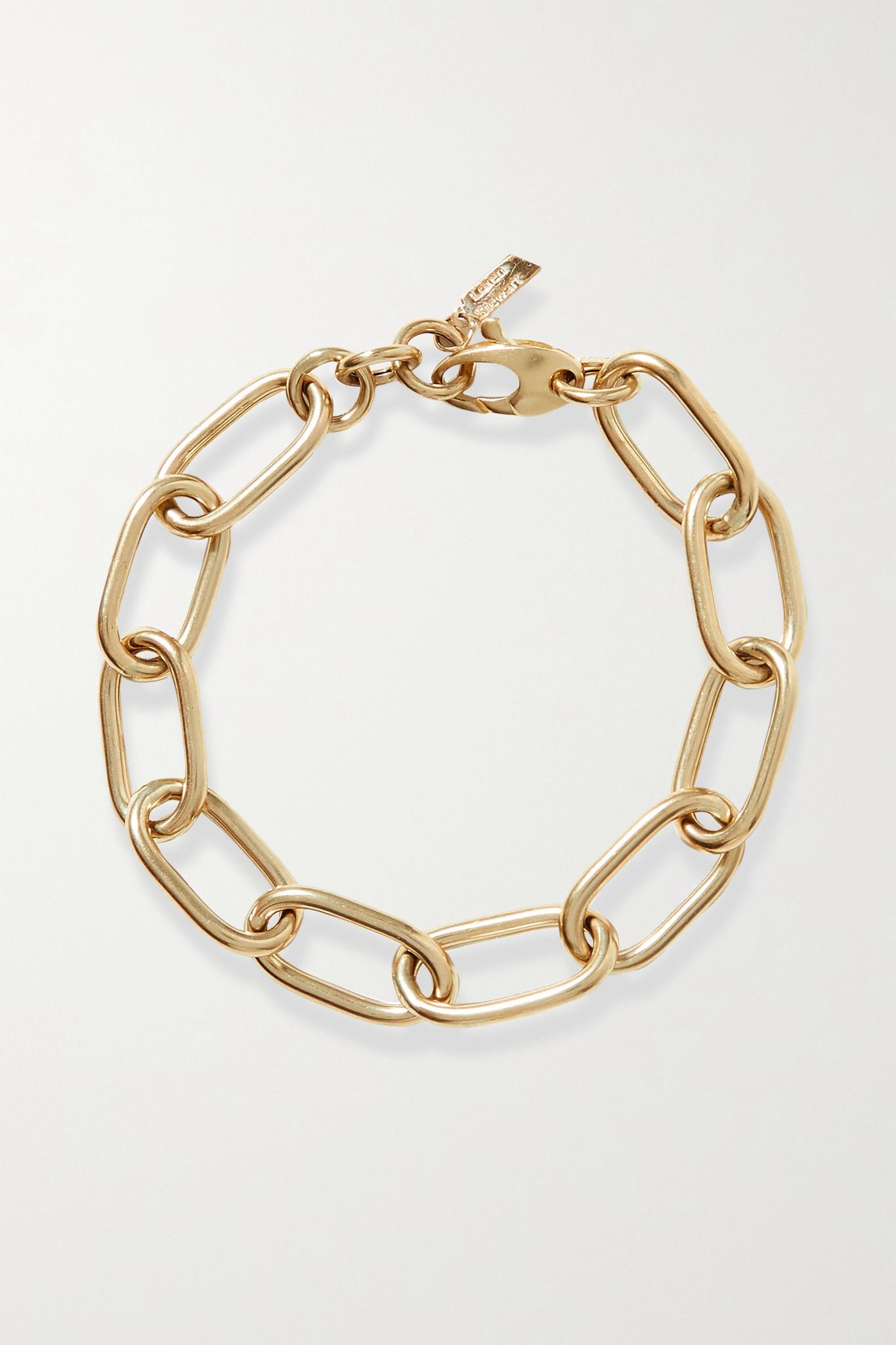 LOREN STEWART - Xl 14-karat Gold Bracelet - one size