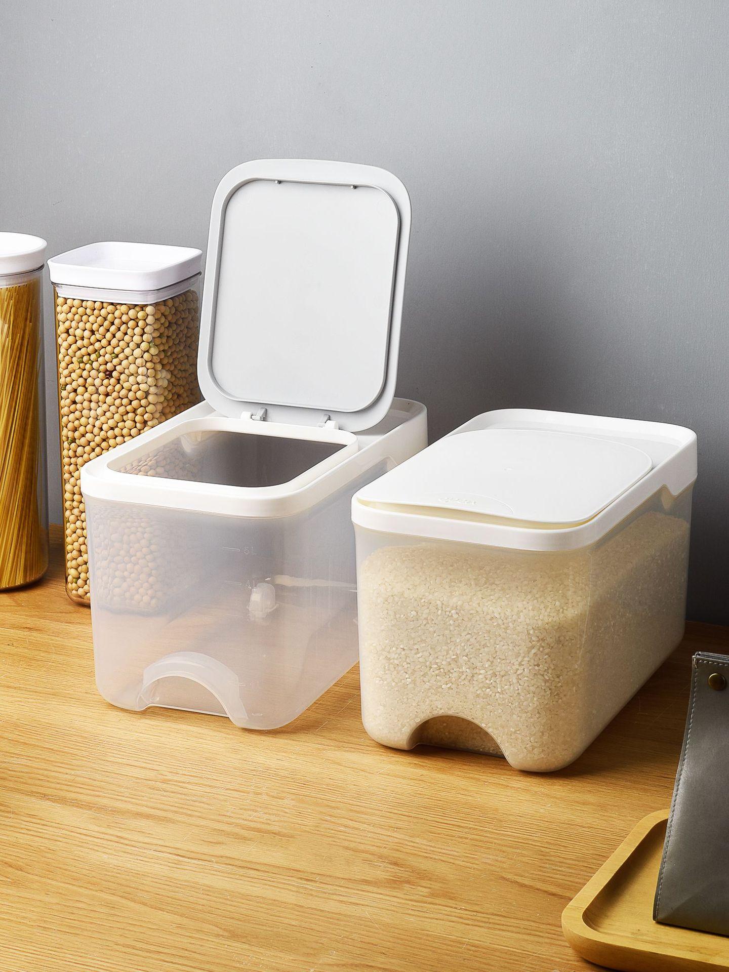 家用米桶創意廚房用品大米面粉收納密封防蟲潮儲米箱米缸米罐