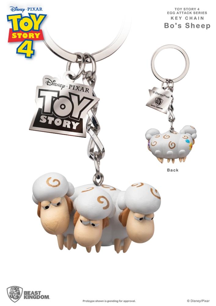 玩具總動員4 蛋擊公仔鑰匙圈系列 寶貝羊款