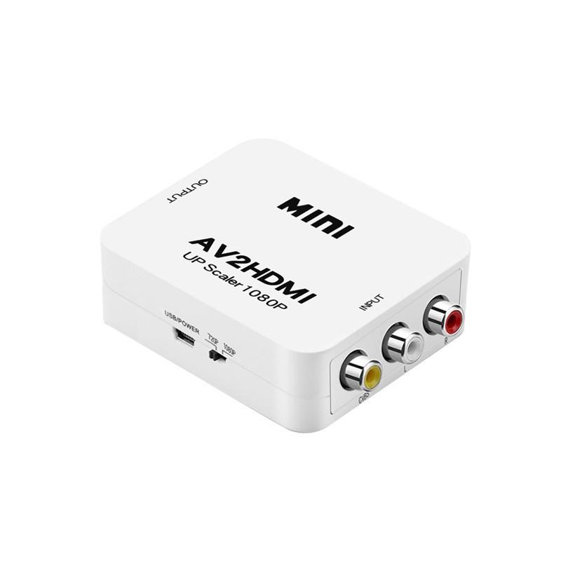 AV訊號轉HDMI轉接盒-1080P版 廠商直送 現貨