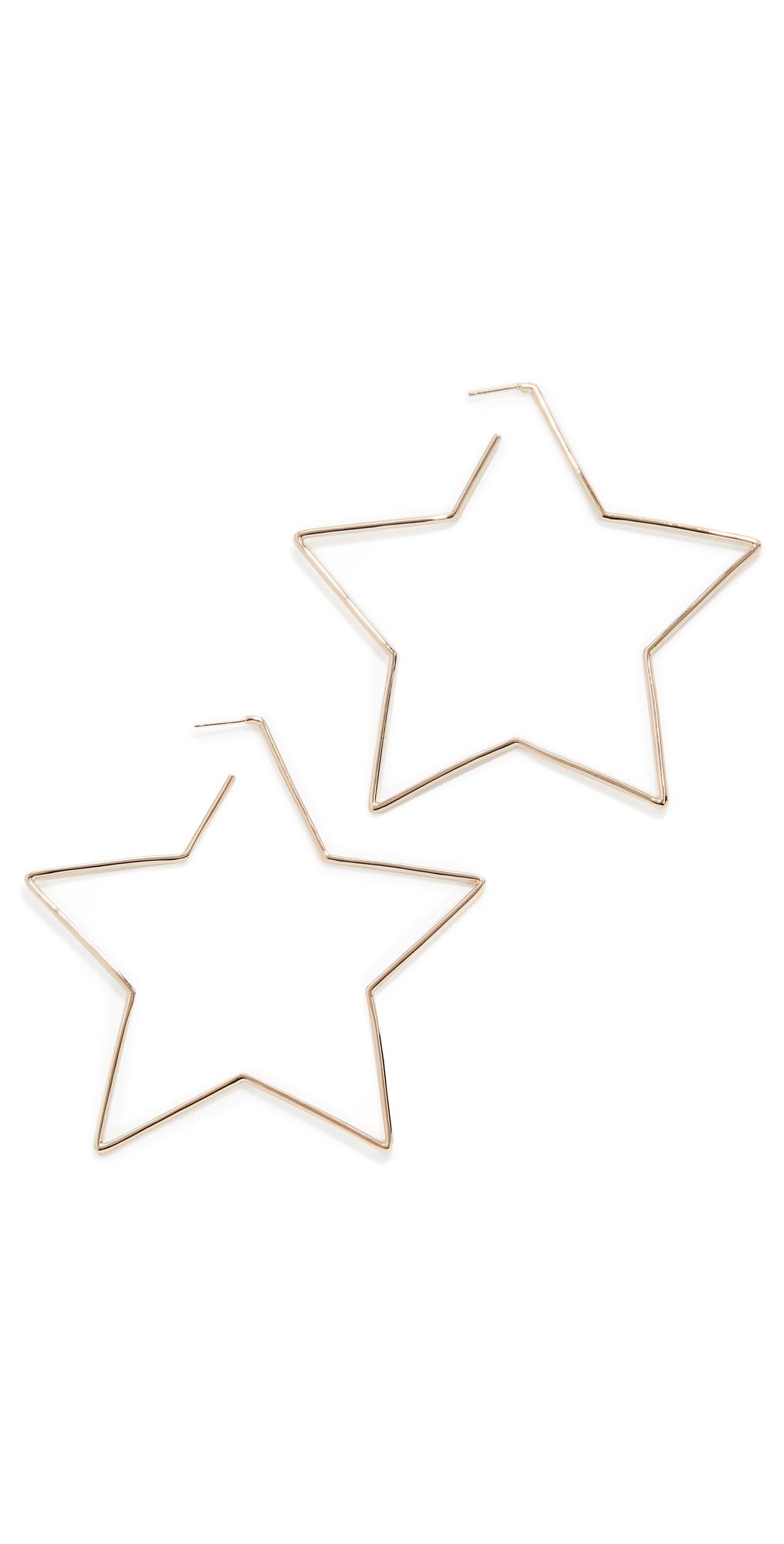 Isabel Marant Shiny In Love Hoop Earrings