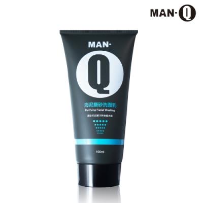 MAN-Q 海泥磨砂洗面乳100ml