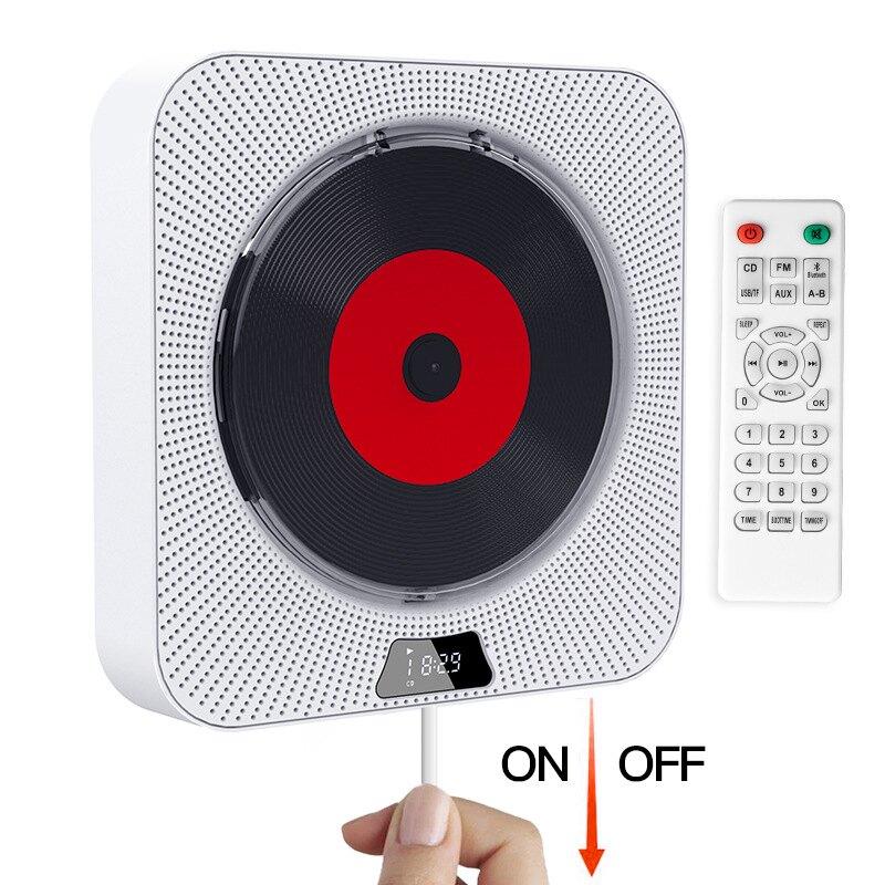 壁掛CD機 便攜式光盤播放器可連藍芽CD播放器CD家教機