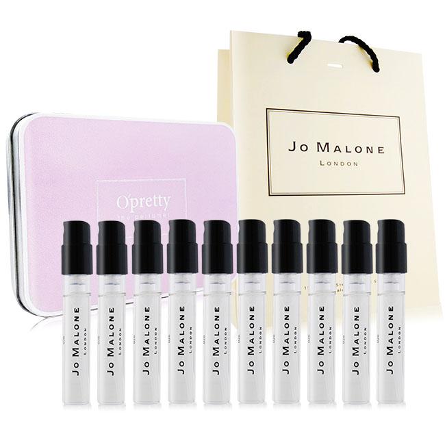 Jo Malone 經典揉香香水十入禮盒組[附提袋]-多款可選
