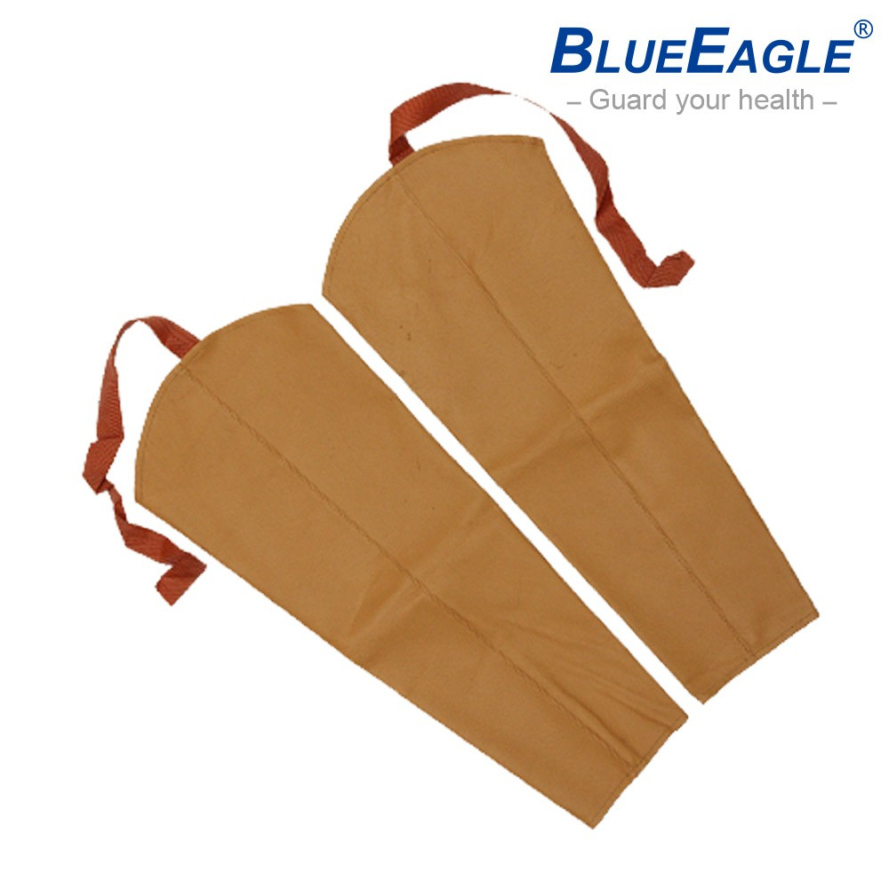 藍鷹牌 L-904 電銲皮手袖 焊接作業防護專用 皮料顏色隨機出貨