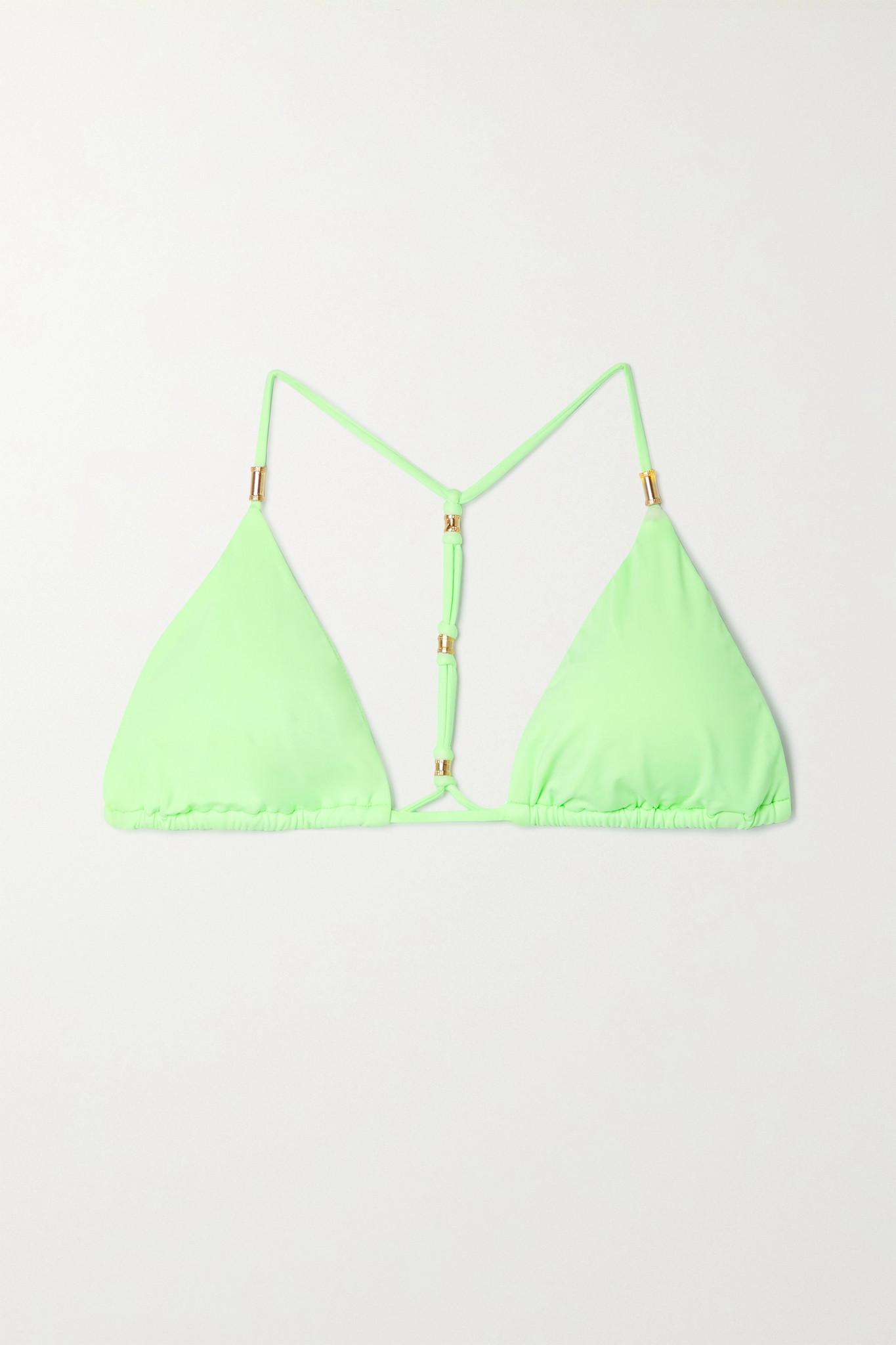 VIX - Shaye 三角比基尼上装 - 绿色 - small