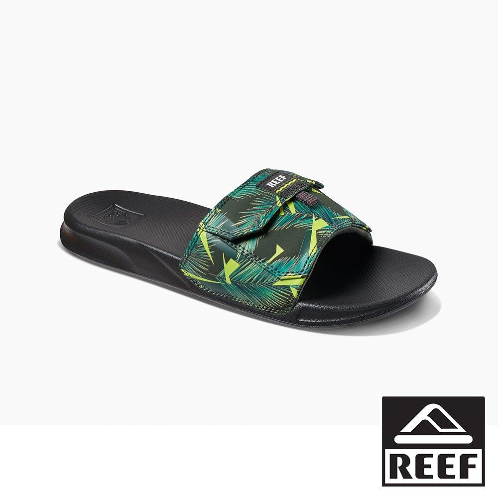 REEF 一片式非夾腳系列人體工學口袋款男款拖鞋 - 熱帶風情S21CI2764