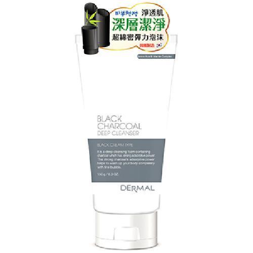韓國DERMAL 竹炭深層清潔洗面乳(150g) [大買家]