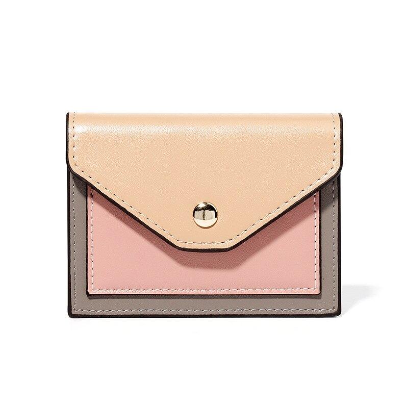 女士錢包迷你小卡包 潮流女士錢包 短款款皮夾 女生短夾 女士錢夾 女短款錢包 創意多功能零錢包 全館八八折