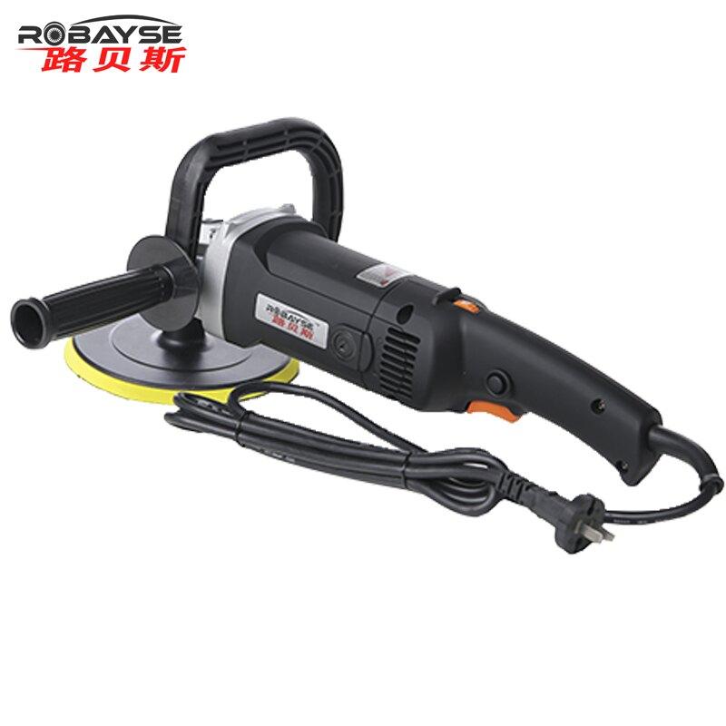 220V可調速汽車打蠟機拋光機美容店工具封釉打磨家用地板