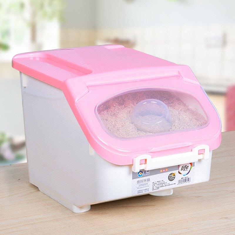 廚房密封米桶 居家防潮裝米箱 家用防蟲儲米箱 面粉米面收納箱