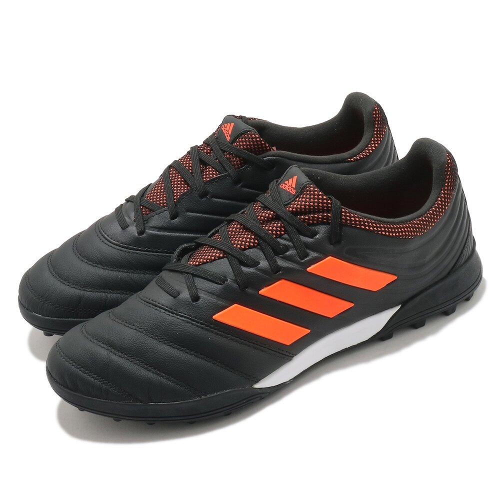 ADIDAS 足球鞋 Copa 20.3 TF 運動 男鞋 海外限定 愛迪達 訓練 支撐 包覆 黑 橘 [EH1488]