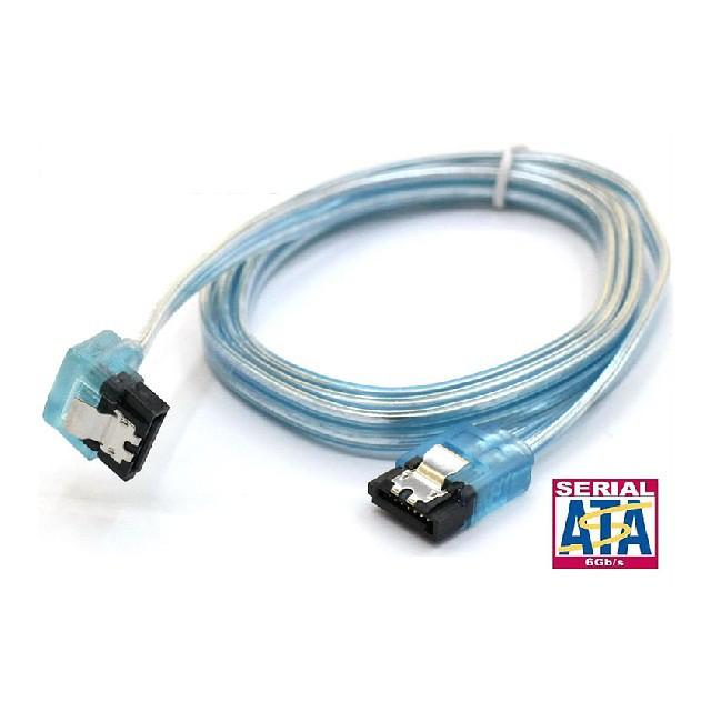 SATA3.0 專用高速傳輸線 0.5m (直-90度)-CB1313