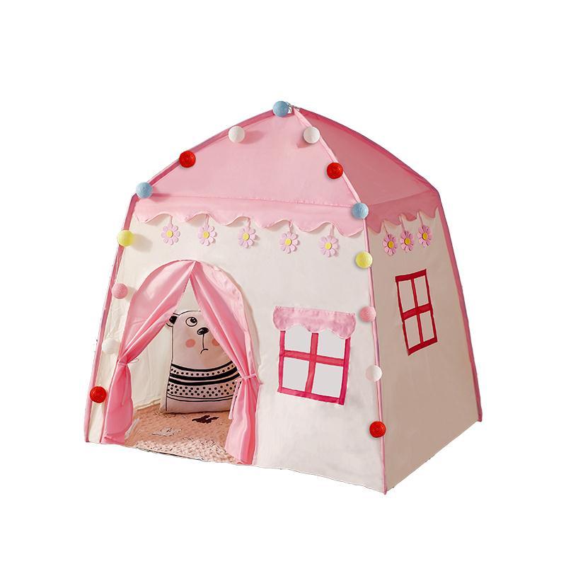 兒童帳篷游戲屋室內公主屋小女孩玩具城堡寶寶睡覺游戲屋
