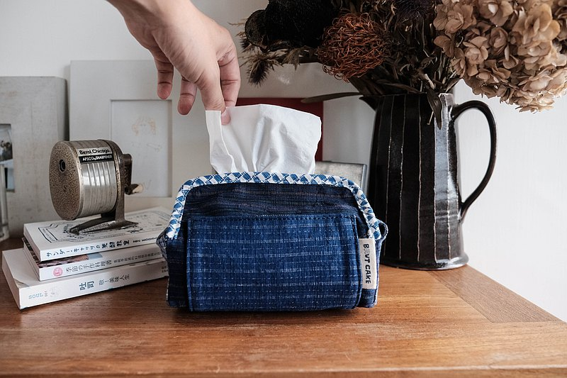 Brut Cake - 純手工紡織古布抽取式衛生紙套 (5) 適用於小包裝