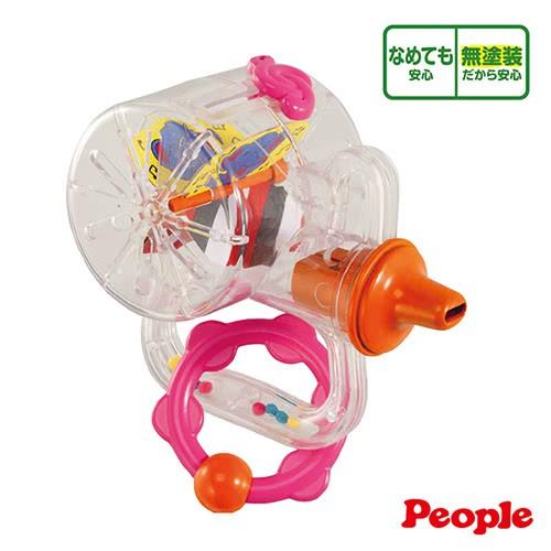 【日本People】新口哨笛智育玩具(新生兒/5感刺激/不含塗料)【小叮噹婦嬰用品】