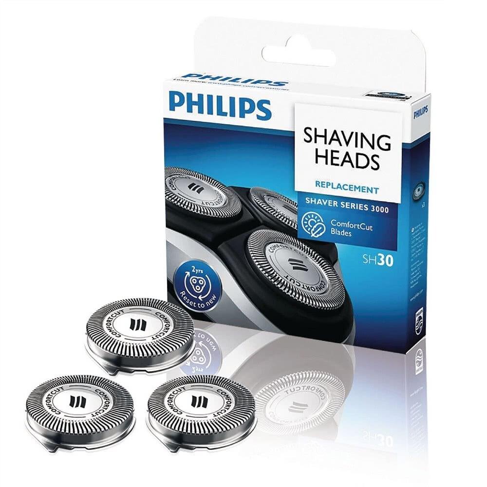 【原廠盒裝公司貨】PHILIPS SH30 飛利浦電動刮鬍刀專用刀頭 適用S3000/S1000系列