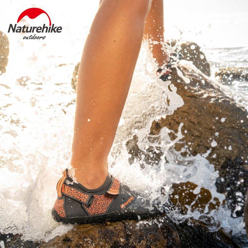 挪客沙灘鞋男涉水鞋女戶外包頭涼鞋溯溪鞋防滑防割速乾游