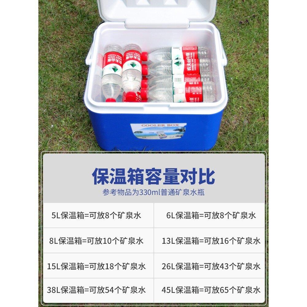 保溫箱 戶外車載便攜保溫箱食品冷藏箱商用擺攤送餐外賣保冷鮮箱釣魚冰桶 艾琴海小屋