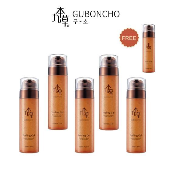 【九本草】UGB 面部去角質凝膠六件組(買五送一) Guboncho Peeling Gel 125ml