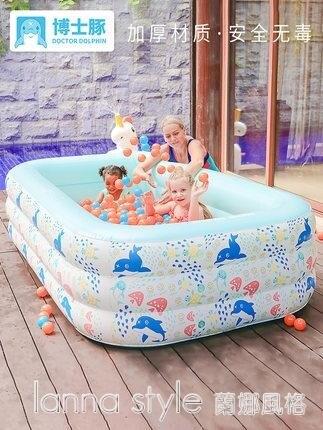 兒童游泳池嬰兒寶寶家用加厚充氣泳池家
