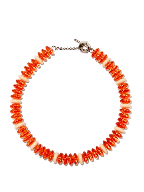 Marni - Beaded Necklace - Womens - Red