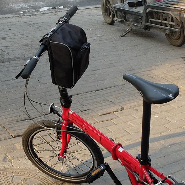 摺疊自行車車頭包代駕電動車電池包特大號掛包大容量車前包車把包  【端午節特惠】