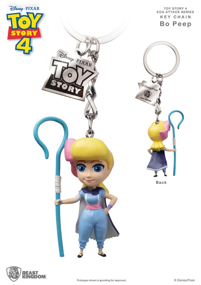玩具總動員4 蛋擊公仔鑰匙圈系列 牧羊女寶貝款