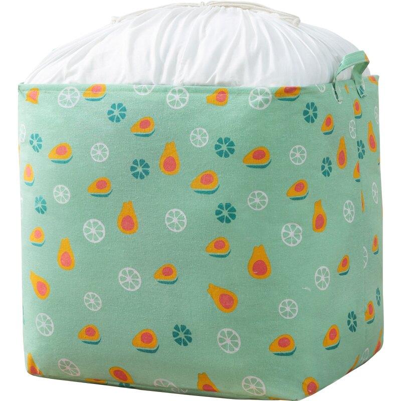 裝衣服收納箱家用大號整理筐盒神器布藝可折疊衣柜衣物搬家儲物袋