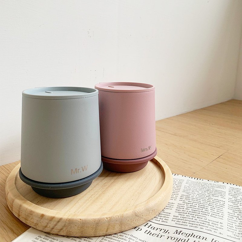 【客製化】WOKY沃廚 鈦陶瓷易潔層保溫瓶/帽子杯-客製 雷雕 刻字