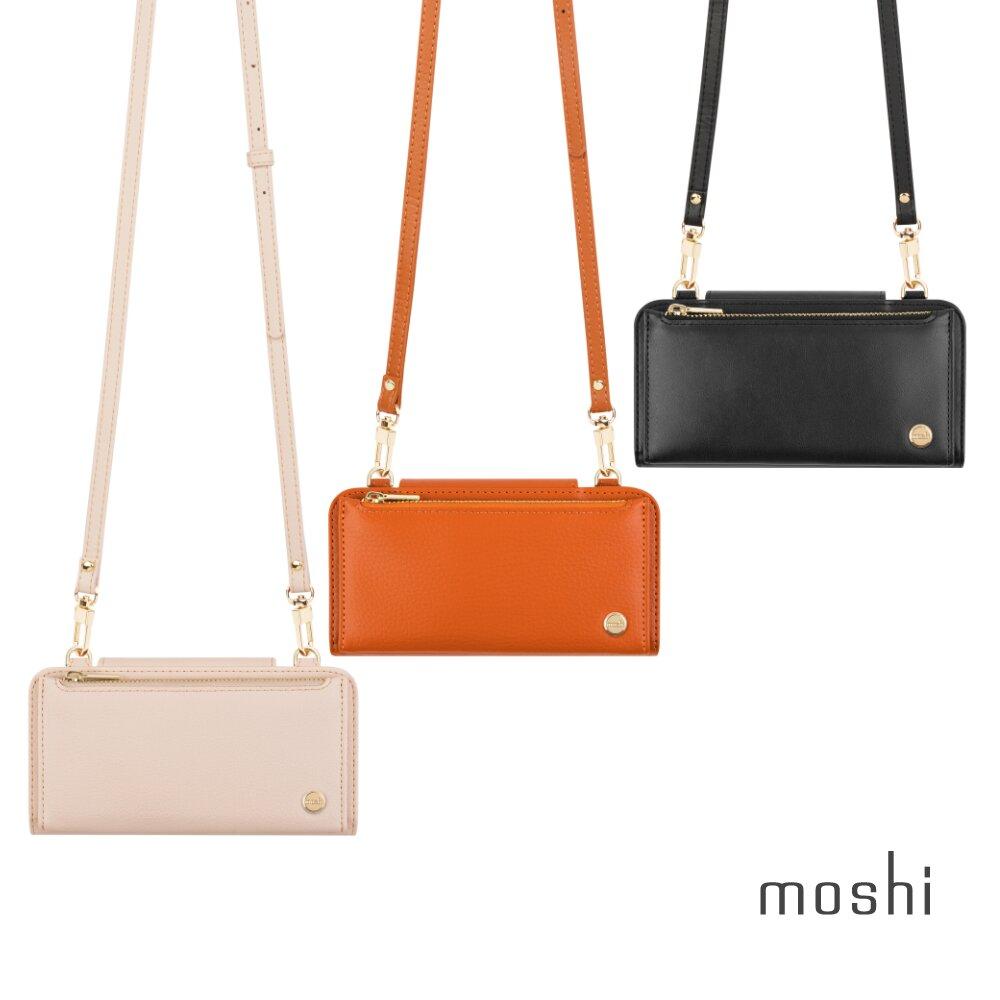 Moshi SnapTo™ Crossbody Wallet 磁吸式斜背三用手機包
