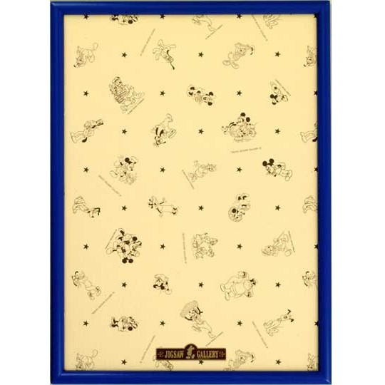 Tenyo 迪士尼500片藍色木框 35X49cm 拼圖總動員 日本進口