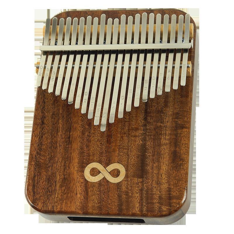 21音拇指琴17音kalimba初學便攜式易指尖學手指琴