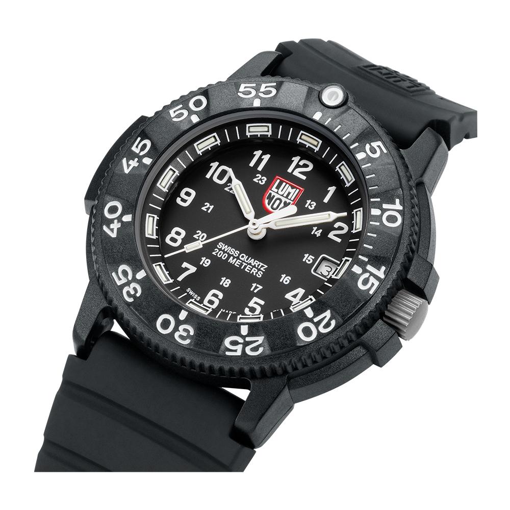 LUMINOX雷明時 海豹部隊經典系列腕錶-黑