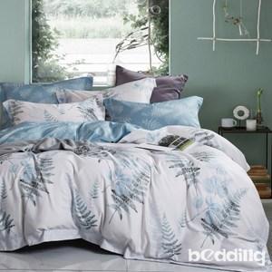 BEDDING-吸濕排汗天絲植物花卉四件式被套床包組-夏戀(特大)