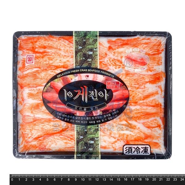 1D1A【魚大俠】FF512壽司用松葉蟹味棒(270g/盤)#壽司用