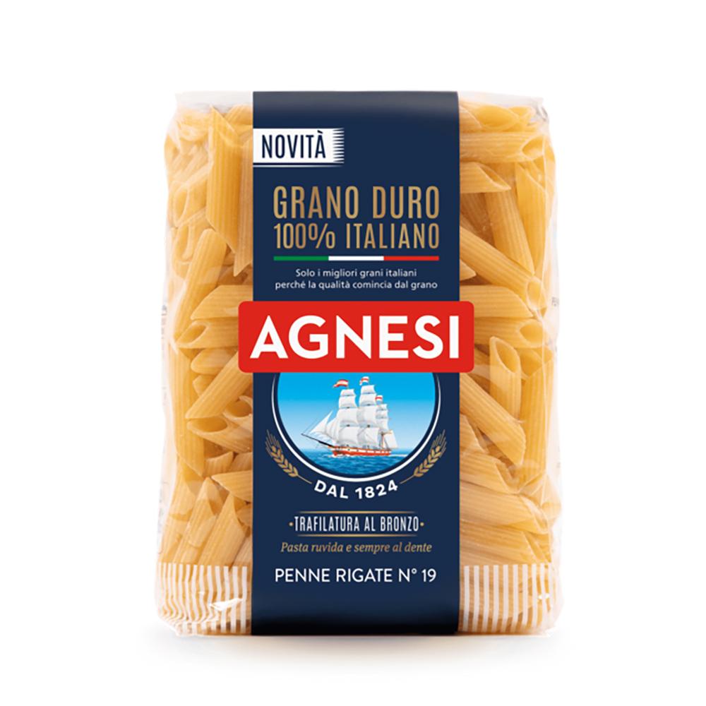 Agnesi 銅模義大利筆尖麵 Agnesi Penne Rigate Bronzo 500g