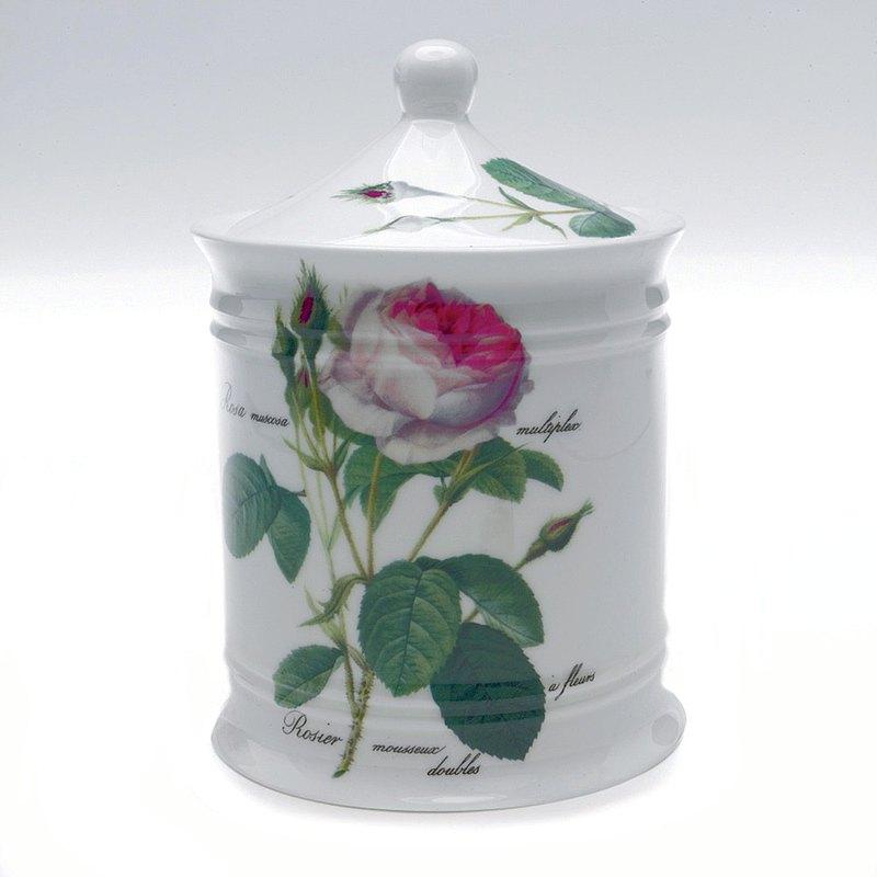 英國 Roy kirkham 浪漫淺玫瑰系列 - 棉花罐