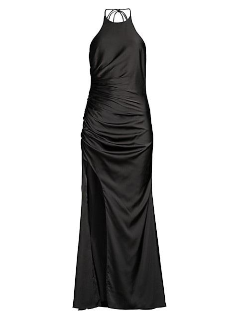 The Ashe Halter Dress