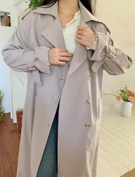 韓國空運 - Weekday Long Trench Coat 大衣外套