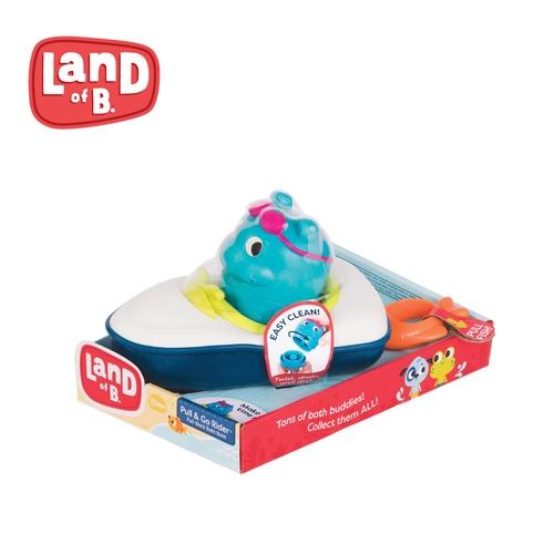 美國B.Toys 噗拉魚動力小艇 米菲寶貝