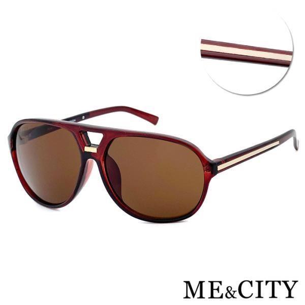 【SUNS】ME&CITY 時尚飛行員太陽眼鏡 抗UV(ME 110002 J121)