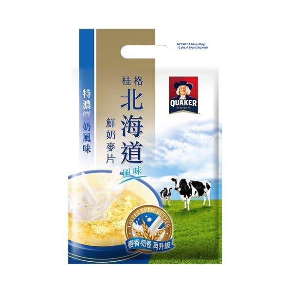 桂格特濃北海道麥片28gX12包